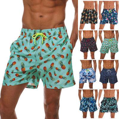 STDKNSK9 Mens Pineapples Summer Pattern Board Shorts Swimming Shorts