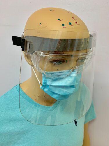 10 Clair Écran Facial Eye Face Protector dentaire éclaboussures Splash SPIT Guard USA