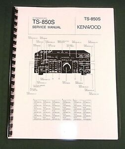kenwood ts 850s service manual