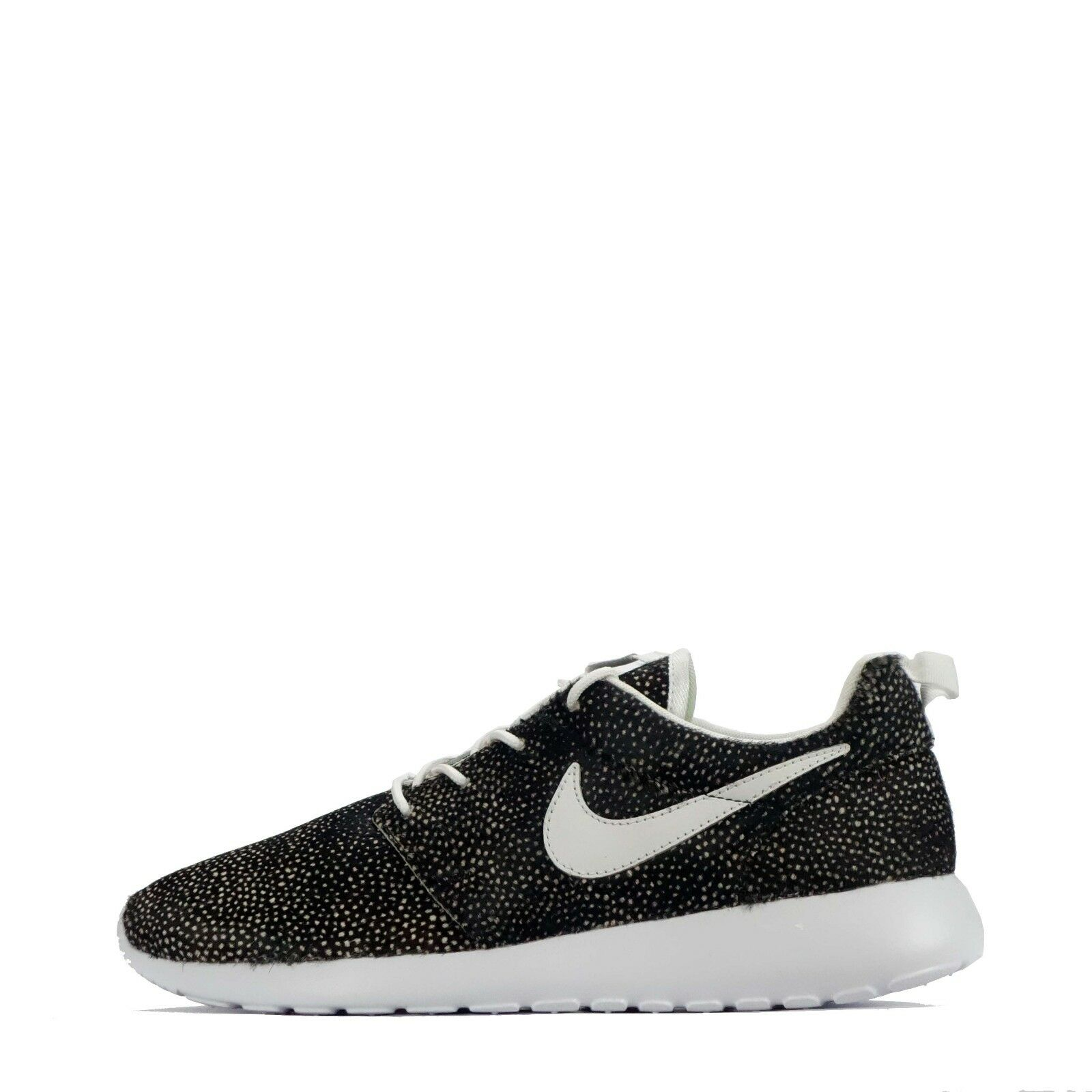 Nike ID Roshecourir Poka Dots Femme Casual trainers chaussures in Brown/blanc