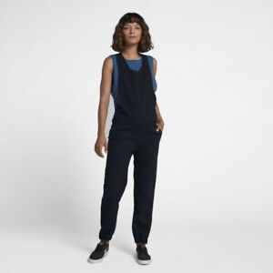Hurley-Modernist-Jumpsuit-SMALL-AJ3597-010-One-Piece-Suit-Triple-Overall