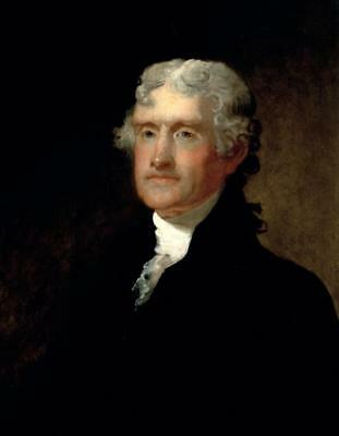 THOMAS JEFFERSON GLOSSY POSTER PICTURE PHOTO PRINT president independence 3947