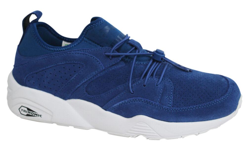 Puma Trinomic Blaze Of Glory Doux Baskets Homme Chaussures Bleu Royal 360101 01 U95-