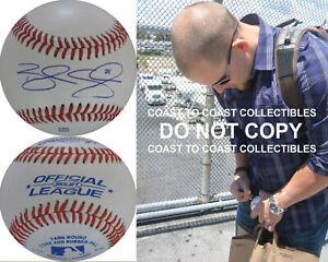 Brandon Snyder Washington Nationals Red Sox signed autographed baseball proof