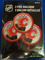 Calgary Flames Nhl Pro Hockey Sports Banquet Party Decoration Mylar Balloons