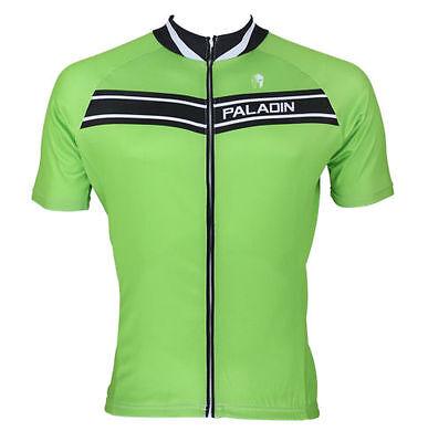 Grün Paladin Männer Sport-Trikot-Zyklus Kurzarmtrikot Radfahren Fahrrad Kurzarm