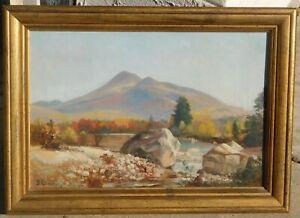 Benjamin-Champney-1817-1907-oil-canvas-12-x-18-MA-NH-artist