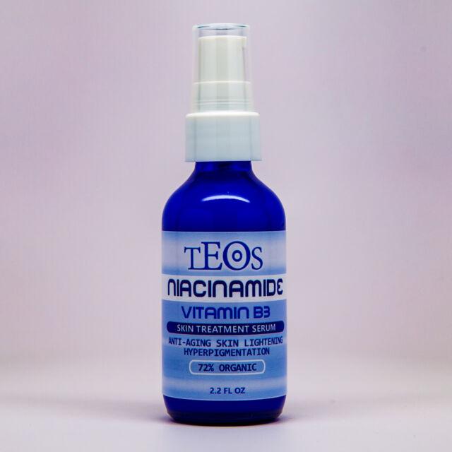 Niacinamide Serum / Vitamin B3 Cream w/ Hyaluronic Acid Anti-Aging / Acne 2.2oz