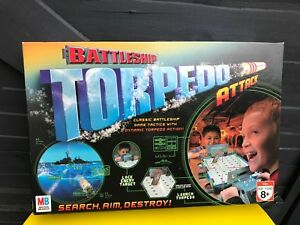 Battleship-Torpedo-Attack-Board-Game-Hasbro-Complete-2007-Perfect-Condition
