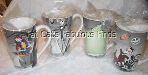 image is loading nightmare before christmas 4pc mug set halloween town
