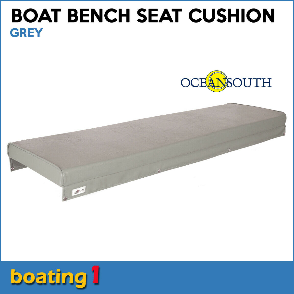 Picture of: Boat Bench Seat Cushion 1500mm X 400mm Dense 50mm Foam Grey