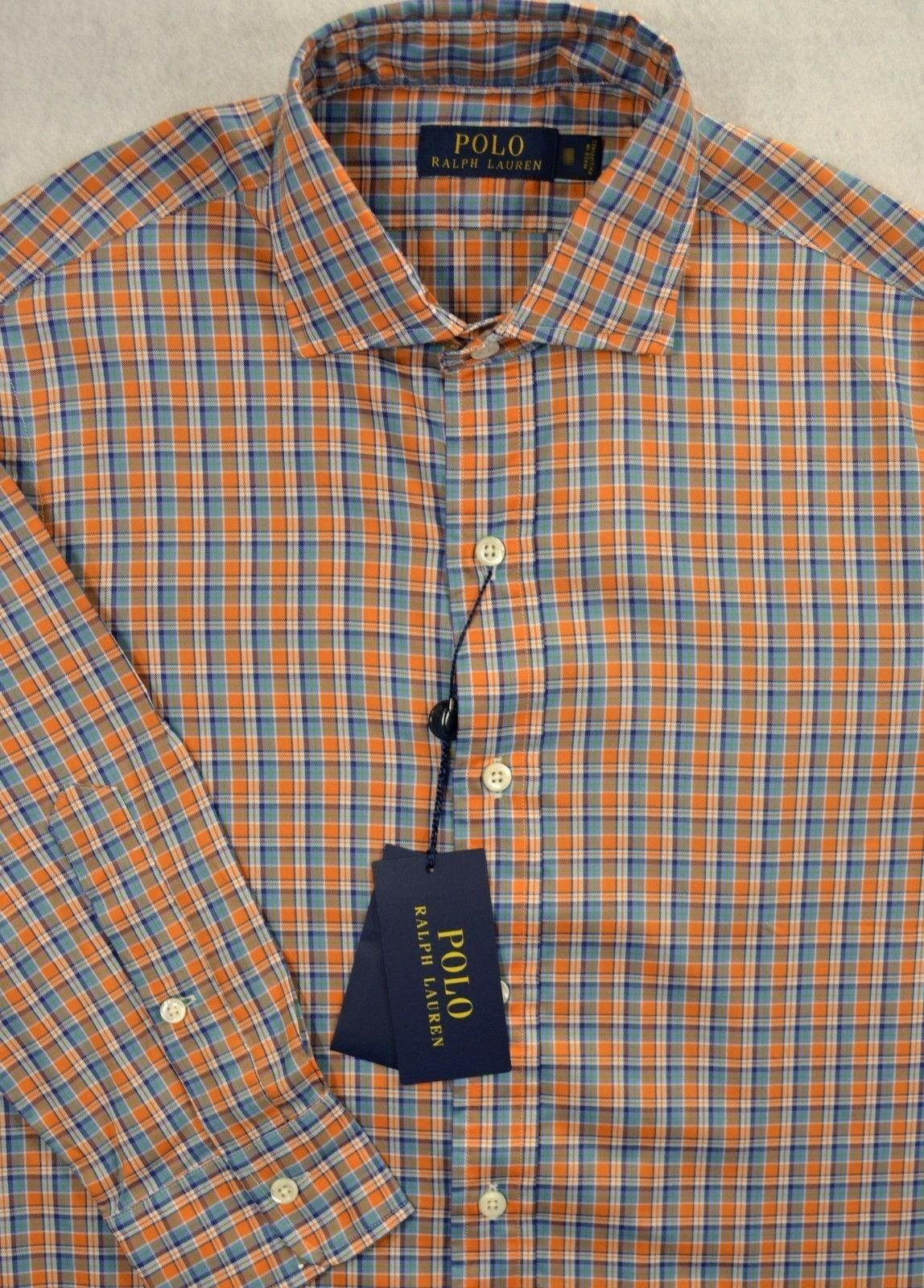 ec54be97 Polo Ralph Lauren Lightweight Oxford Shirt M & L NWT Button-Front ...