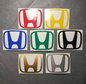 Car Logo Window Decal Bumper Sticker For Honda Civic Accord CRV VTEC Si S2000