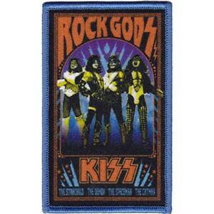 Bisou-Rock-Gods-Brode-Patch-Tout-Neuf-Musique-Bande-4423