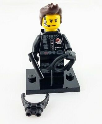 genuine lego minifigures the spy guy from  series 16