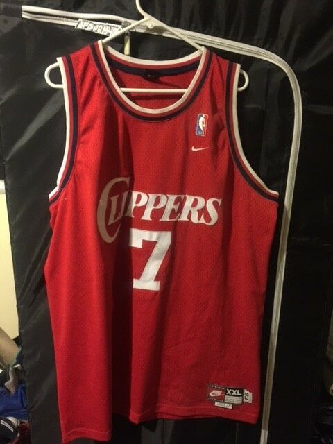 best-selling model of the brand Nike NBA Lamar Odom Los Angeles Clippers Jersey Red -Sz XXL Length +2