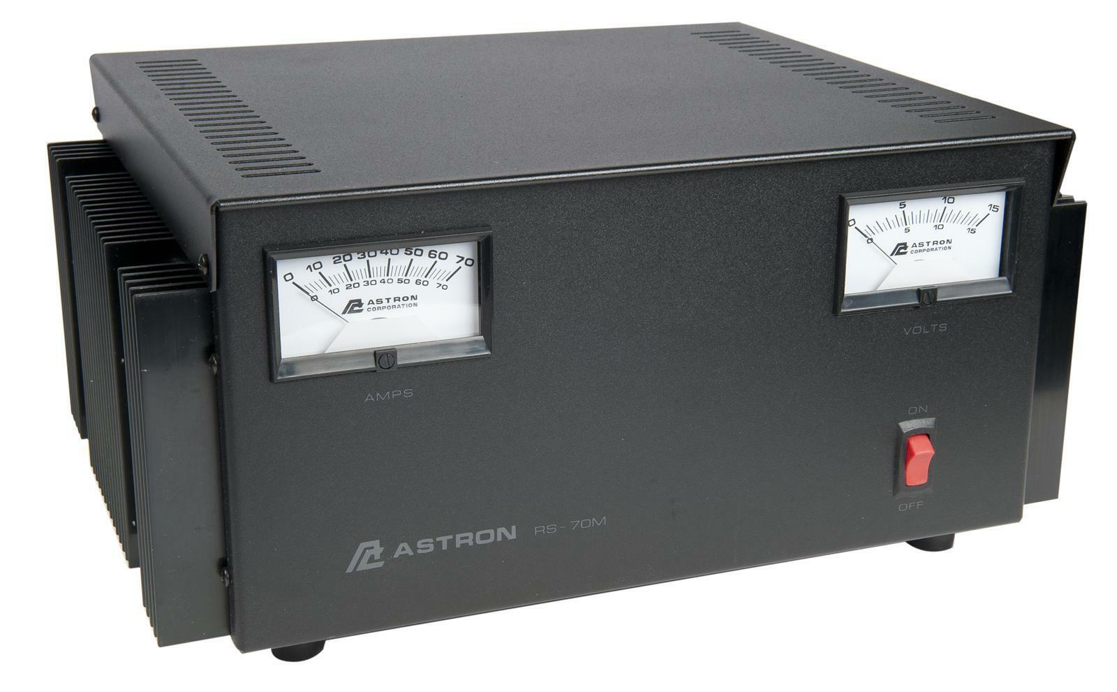 ASTRON POWER SUPPLY RS-70M-AP (latest model) 13.8VDC 70A. BRAND NEW W/ WARRANTY. Buy it now for 339.95
