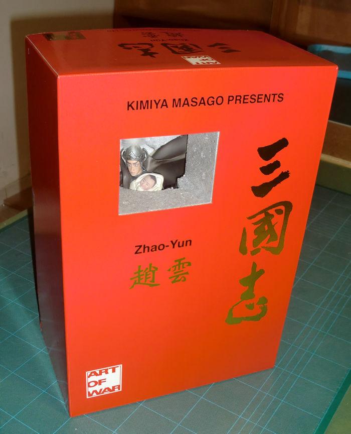 ART OF WAR KIMIYA MASAGO PRESENTS ZHAO YUN STATUE DINASTY WARRIORS NEW NUOVA