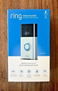 OPEN-BOX-Ring-Doorbell-HD-Wi-Fi-Smart-Video-Doorbell-1-Satin-Nickel-720P