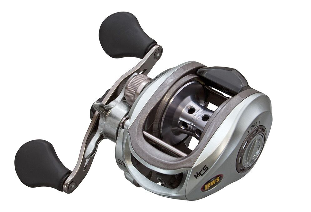 Lew's LSG1SHMG SG Laser MG Speed - Spool - Speed Right Hand, 7.1:1 Retrieve Reel ab01e3