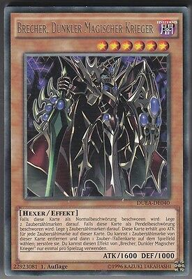 YU-GI-OH Brecher Dunkler Magischer Krieger Rare DUEA-DE040