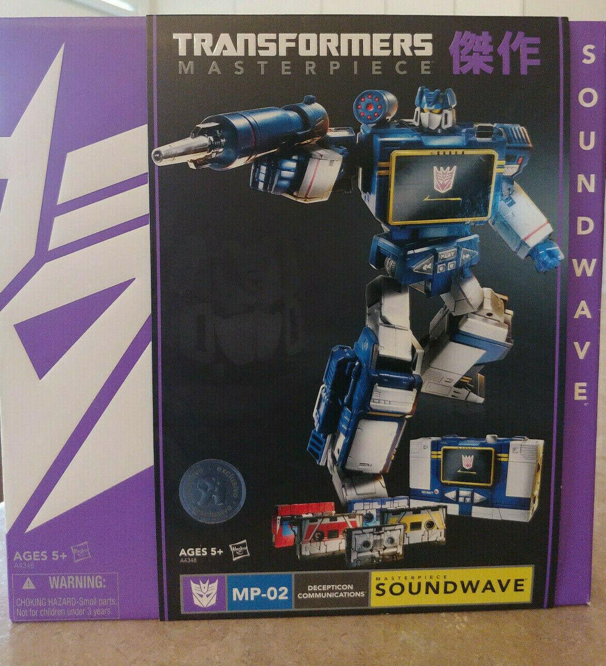 Transformers Masterpiece Soundwave, MP-02, 2013 TRU Exclusive