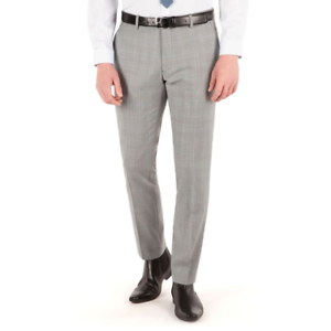 NEW-MENS-BEN-SHERMAN-CAMDEN-SUPER-SLIM-FIT-PRICE-OF-WALES-CHECK-TROUSERS