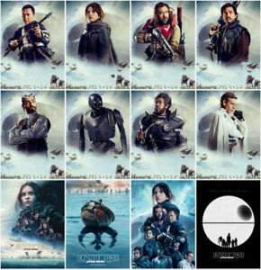 12 Rogue One A Star Wars Story 2016 Mirror Surface Postcard Promo Card Poster B Ebay