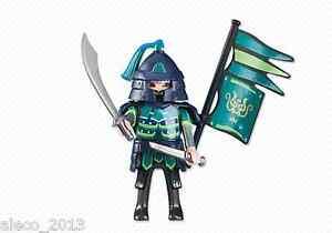Playmobil-Jefe-de-los-Caballeros-Asiaticos-Verdes-Ref-6327-NUEVO-Soldado