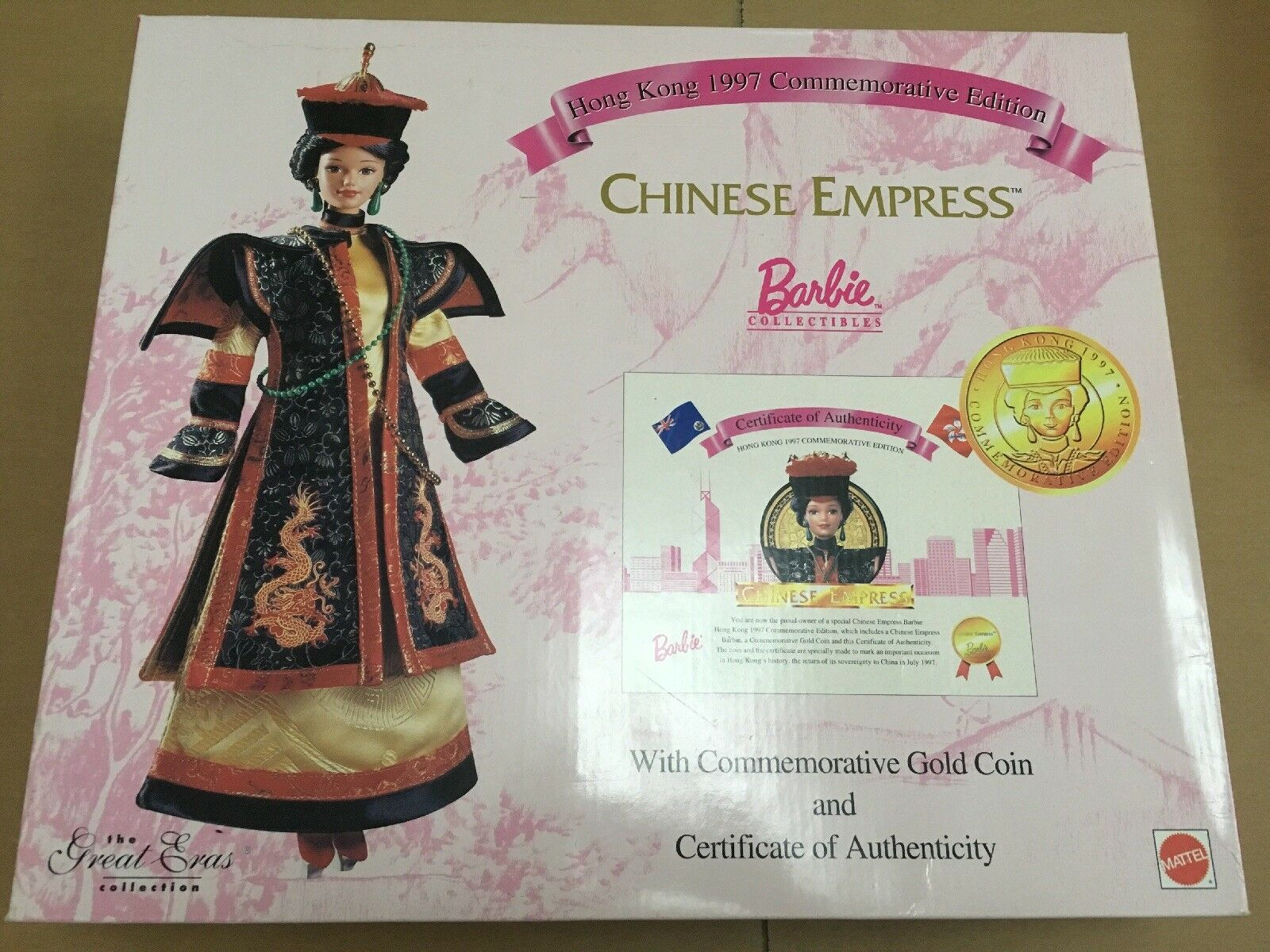 Mattel Hong Kong 1997 Anniversario Edizione cinese IMPERATRICE Barbie