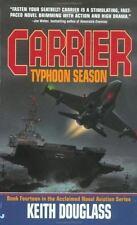 Typhoon Season (Carrier, No. 14) Douglass, Keith Mass Market Paperback
