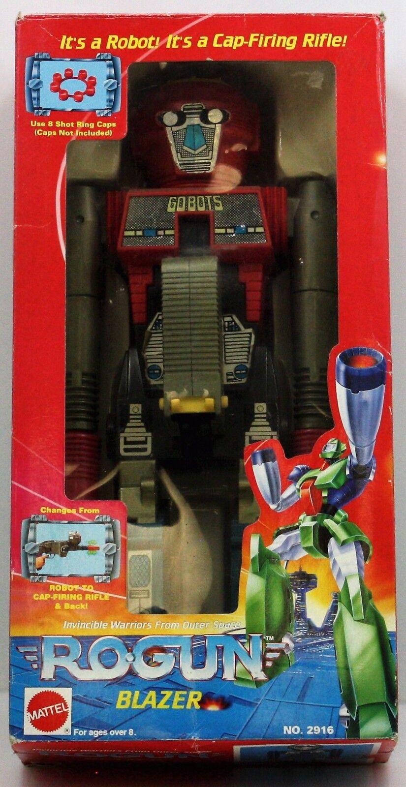 Vintage 1984 Tonka Arco Gobots Rogun Cap pistola