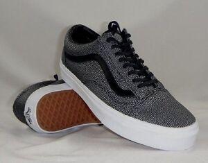 Image is loading VANS-OLD-SKOOL-Unisex-Embossed-Stingray-Black-Shoes- d0862b127