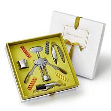 Premier Wine Accessories Gift Set with Aerator//Pourer Corkscrew Bottle Opener,
