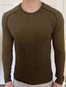 Lululemon-Mens-Size-M-Metal-Vent-Tech-LS-2-0-Gold-FSGD-TRNV-Long-Sleeve-No-Stink