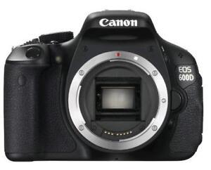Canon 600D Body (no caricabatterie / vedi foto)