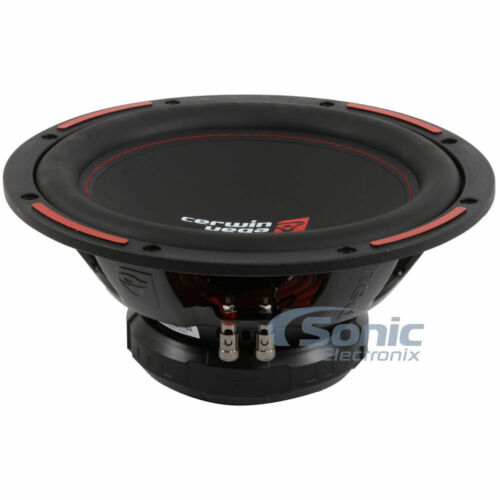 "CERWIN VEGA 1400W 12/"" Dual 4-Ohm HED SERIES Car Subwoofer//SubH7124D"