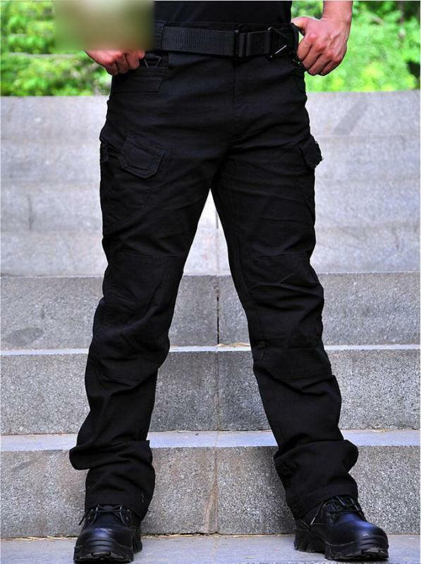 Outdoor Military Army Cargo Security Combat Hiking Trousers training Pants