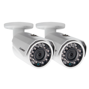 Lorex LBV2711B 2-Pack 1080P HD IR Bullet Camera with Night Vision