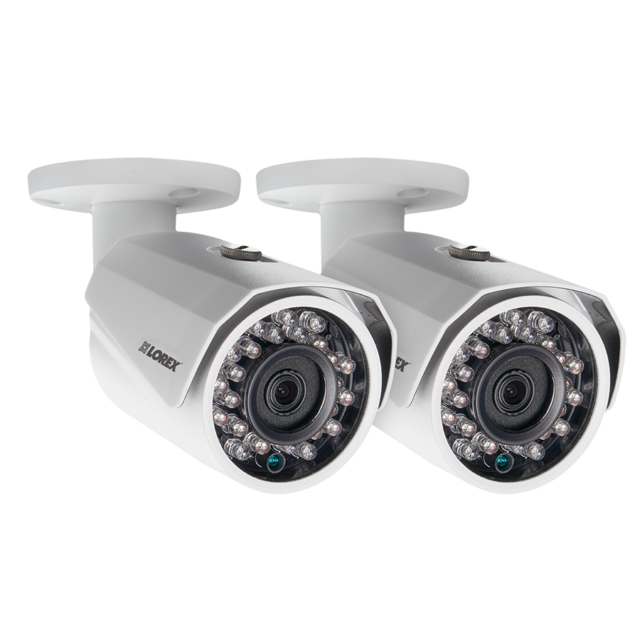 LOREX 1080P HD IP LNB3321B BULLET CAMERA WITH NIGHT VISION POE NETWORK SECURITY
