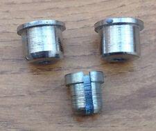 LAMBRETTA LI/GP/SX/TV STAINLESS STEEL REAR FRONT& REAR BRAKE CABLE FERRULES. NEW