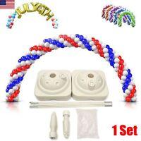 Balloon Set Arch Column Water Base Kit Connectors Clip Folders Wedding Decorator