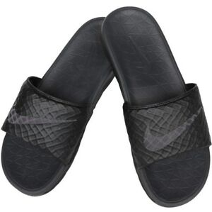 buy popular 3d284 10df6 Image is loading Nike-Benassi-Solarsoft-2-Mens-Comfort-Slide-Sandals-