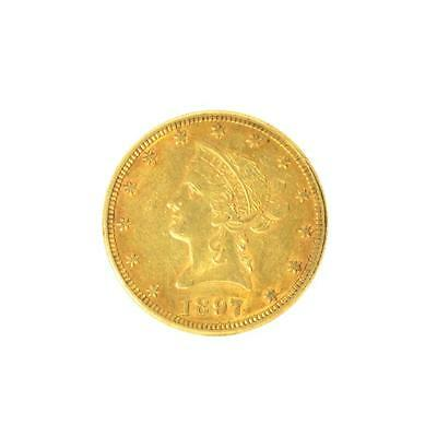 2027021. *1897 $10 U.S. Liberty Head Gold Coin (DF) Lot 2027021