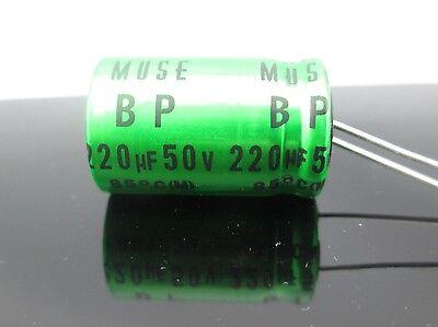 JAPAN 6PCS Nichicon BP 47uf 25v 47mfd MUSE Audio Capacitor Caps