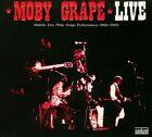 Historic Live Moby Grape Performances 1966-1969 [Digipak] by Moby Grape (CD, Apr-2010, Sundazed)