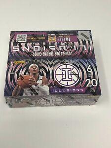 2019-20-NBA-Panini-Illusions-Sealed-20-Pack-Retail-Box-Pink-amp-Black-In-Hand