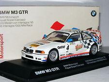 Minichamps Dealer Edition BMW M3 GTR 1995 Interlagos 1000 Mile #4 1/43