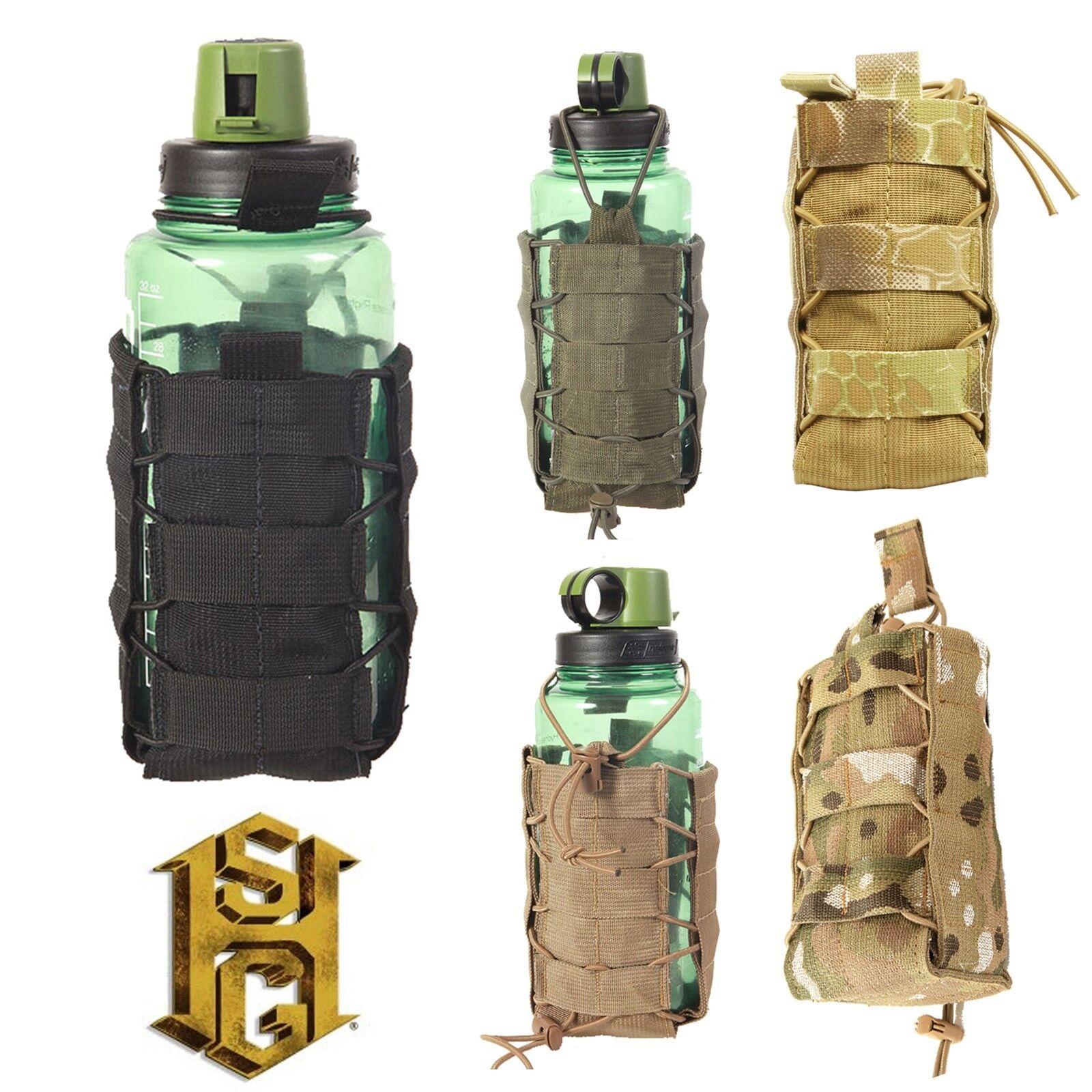 HSGI High Speed Gear MOLLE Belt Mount SOFT TACO Water Bottle Pouch All colors