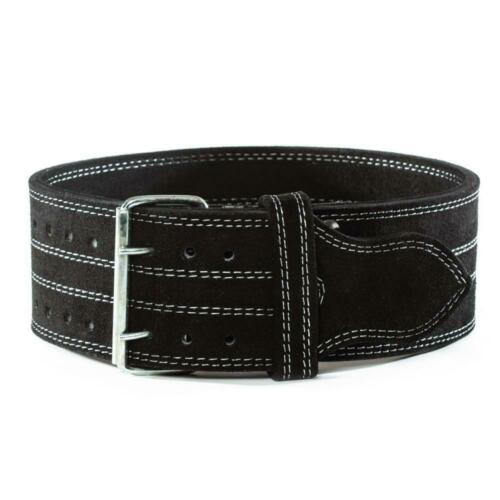 Leather Suede Powerlifting Belt10mm Weight BeltsSingle or Double Prong *D*